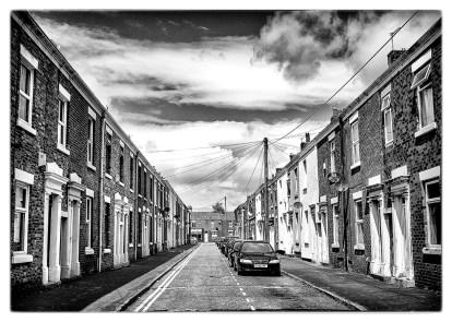 HOUSES: Preston, monochrome