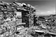 HOUSES: Haslingden Grane, monochrome