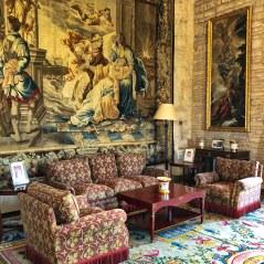 Almudaina Palace 6Palma Mallorca Empty Chairs