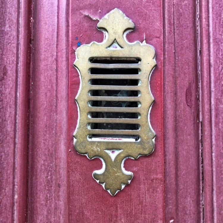 Red door furniture in Old Lisbon Street
