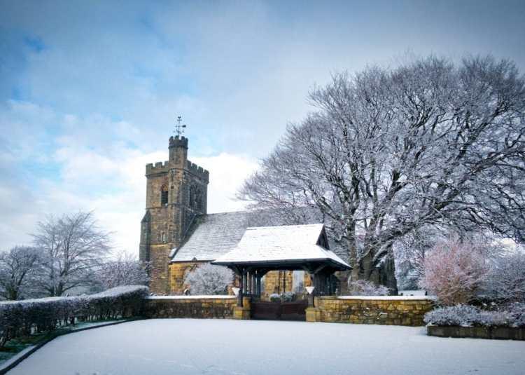 St John the Evangelist Lund Parish Church Clifton Lancashire