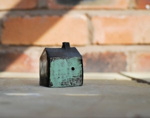 Small Ceramic House Sculpture