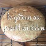 Gâteau au yaourt, receta para aprender/enseñar Francés