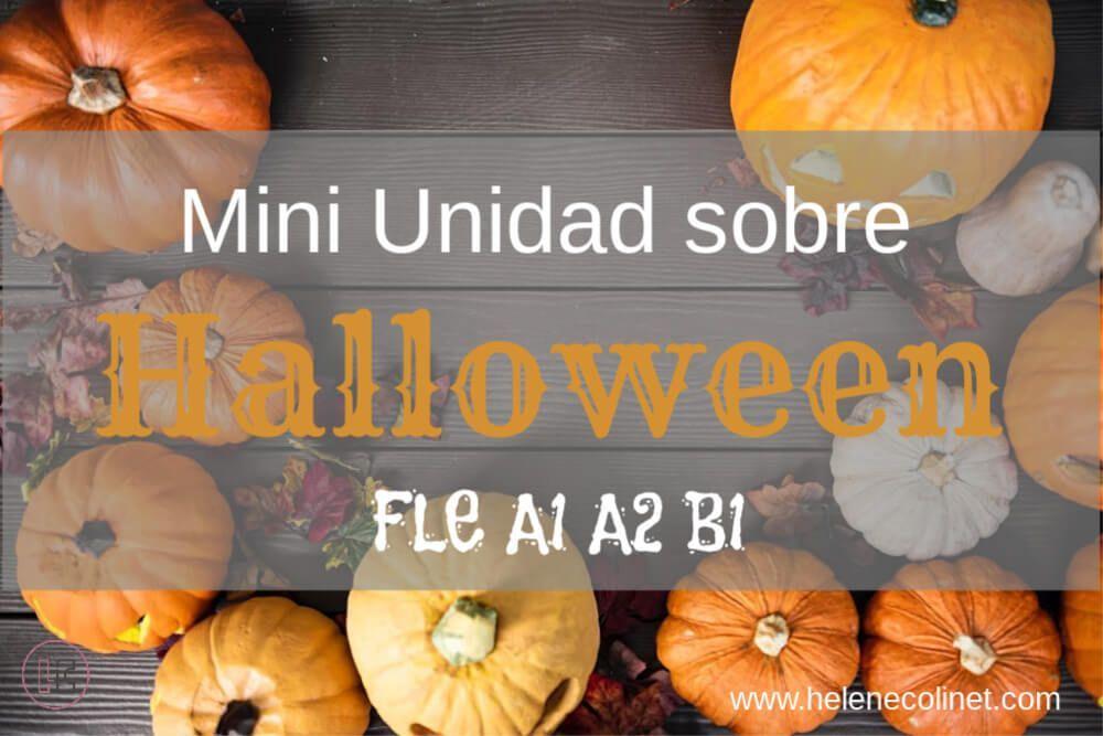 halloween FLE helene colinet recursos profesores idiomas tprs ci