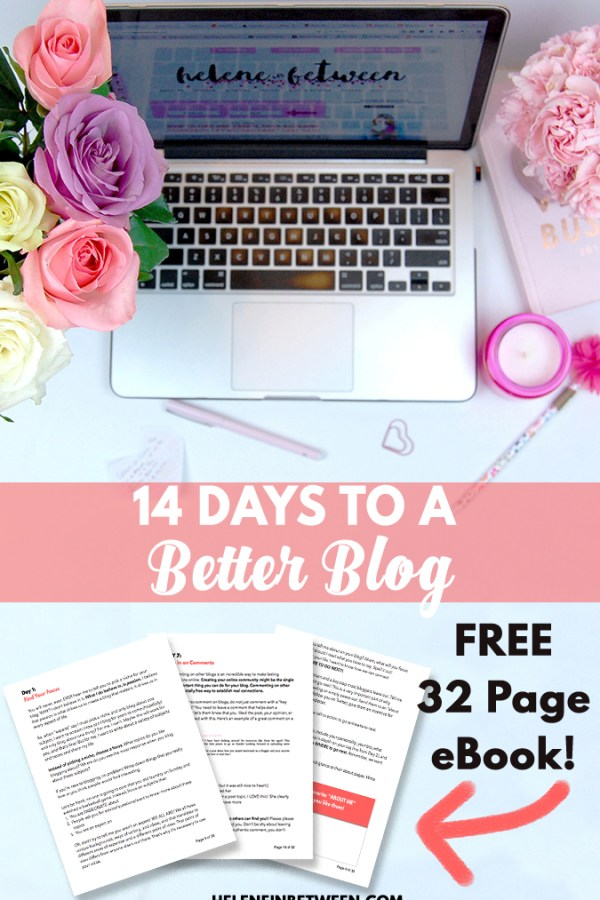 14 Days to A Better Blog – FREE eBook