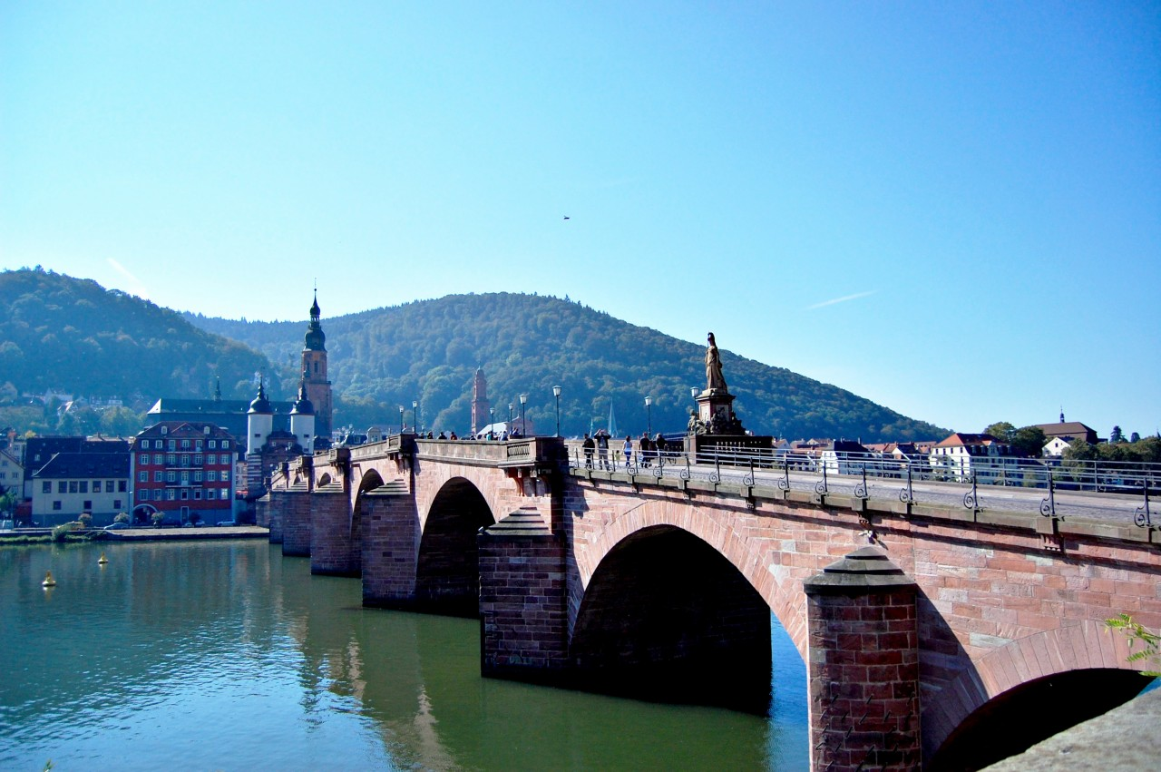 Old Bridge Heidelberg Alstadt