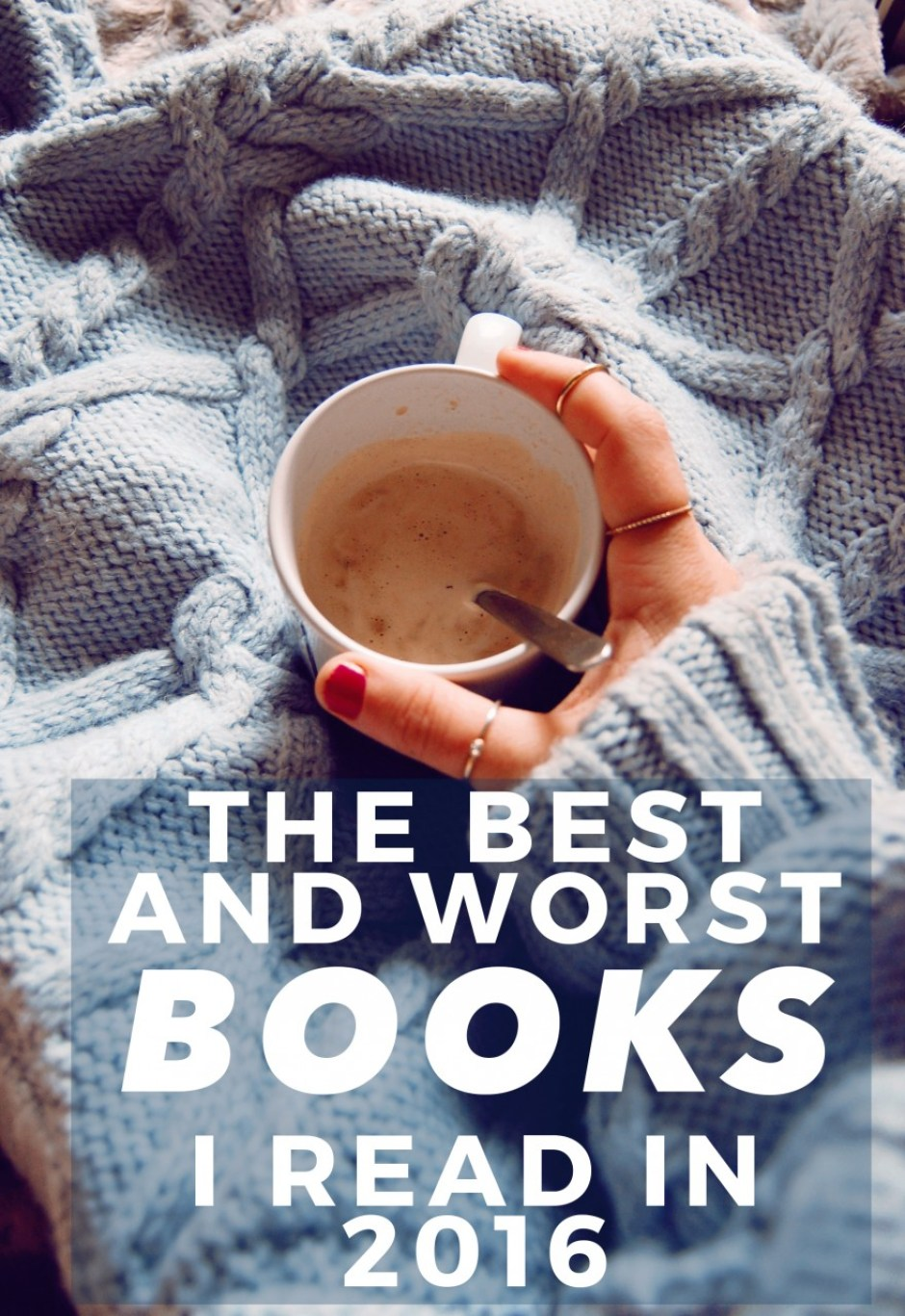 the best and worst books i read in 2016