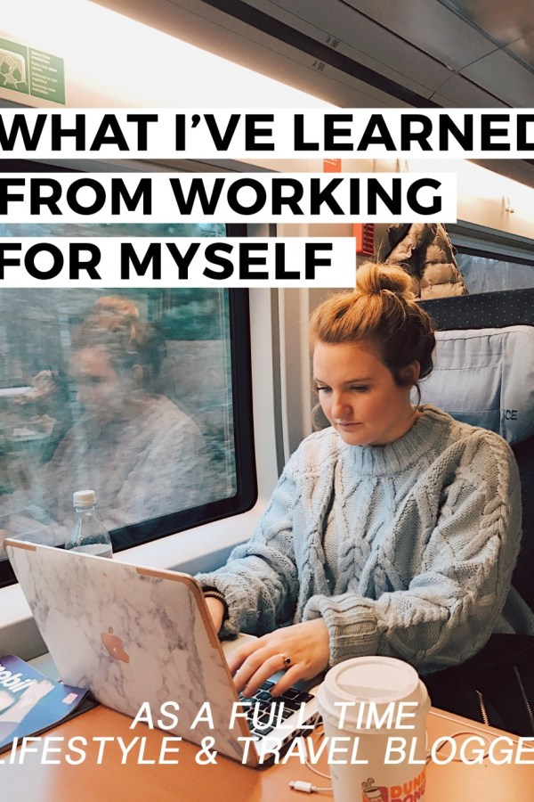 What I've Learned from Working for Myself