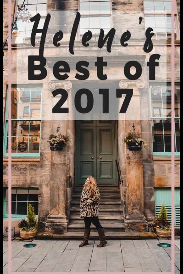 Helene's Best of 2017 (PLUS GIVEAWAY!)