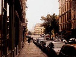 Walking along the streets in Paris felt so different to walking around Australian cities - they were much more winding and had so much individual character!