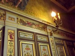 Some more painted detail in the room pictured in another room - really amazing spaces to be seen!