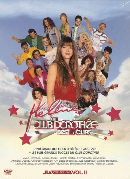 DVD clips Hélène et le Club Dorothée