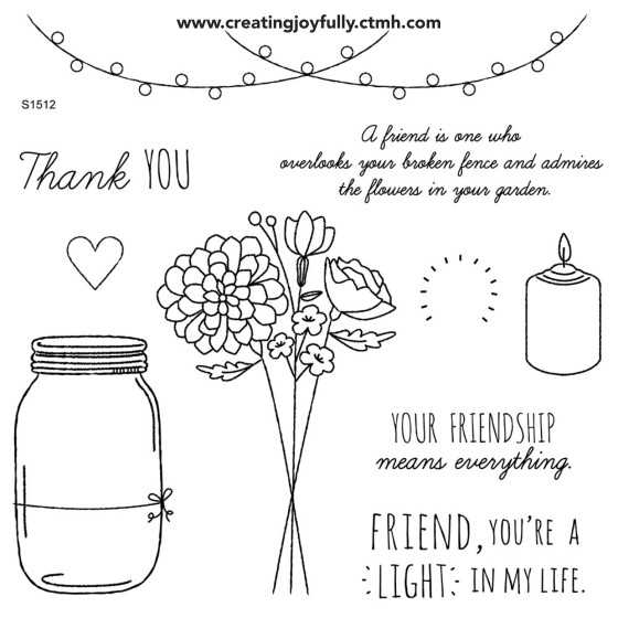 CTMH December SOTM - Candlelight Garden (S1510) | http://creatingjoyfully.ctmh.com/ctmh/promotions/sotm/2015/1512-candlelight-garden.aspx