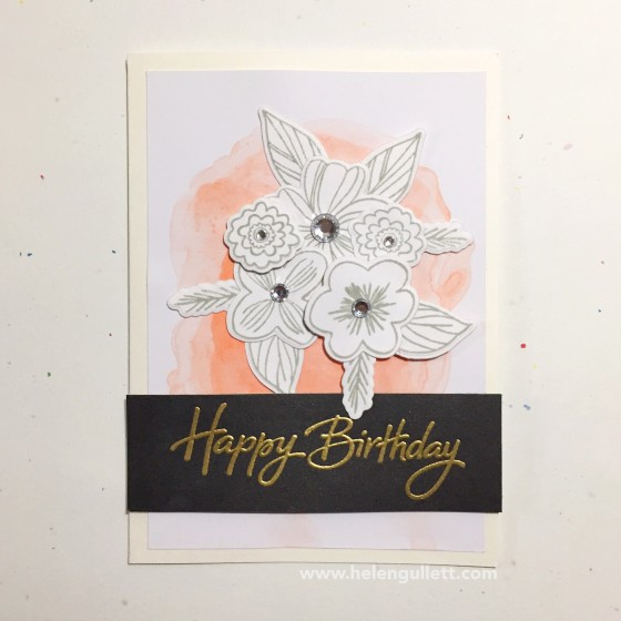 Happy Birthday | Handmade by Helen Gullett | Blog at --> http://helengullett.com/?p=8315 #ctmh #closetomyheart #springtimewishes #thincuts #ctmhthincuts #diecutting #wrmk #wermemorykeepers #evolutionadvanced