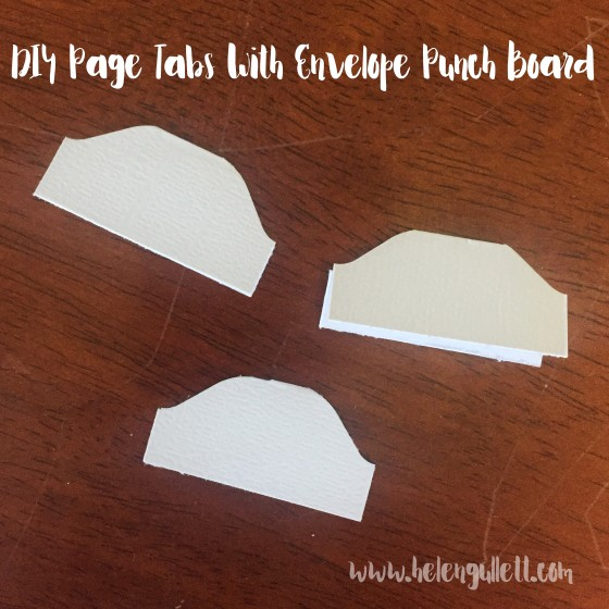 DIY Page Tabs with Envelope Punch Board -- srcset=