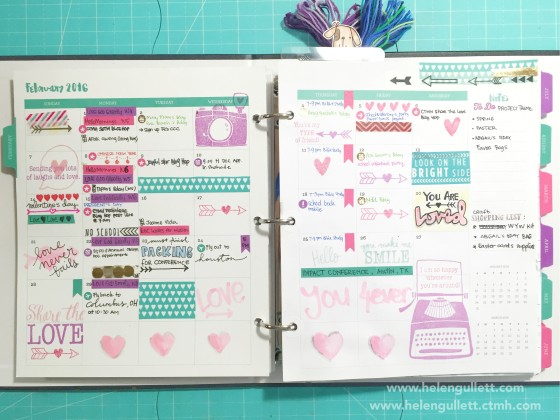 February Everyday Life Planner