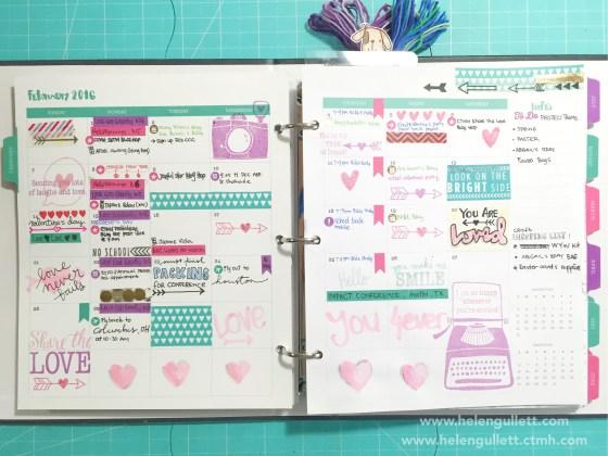 February Everyday Life Planner