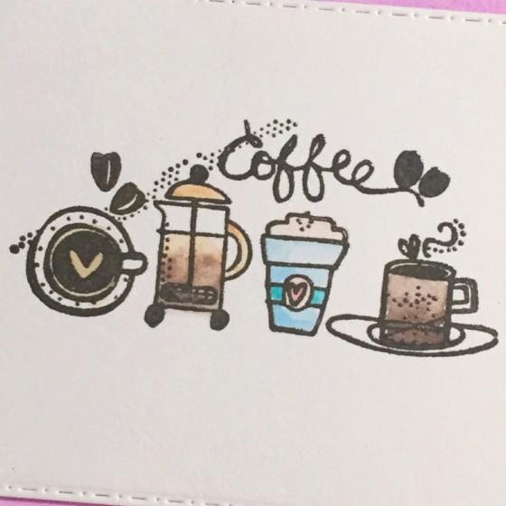 Spring Coffee Loving Bloghop: Coffee Side by Side