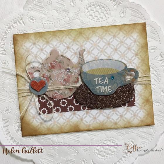 Coffee Loving Cardmaking Thursday Break: Tea Time