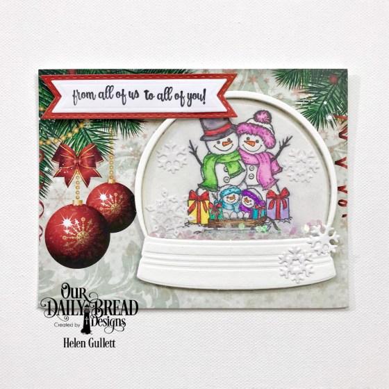 ODBD November New Release Blog Hop Christmas Card
