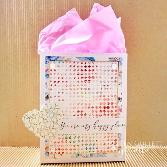 Graciellie Design Floral Heart Gift Bag - Living My Given Life