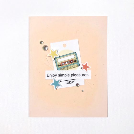Precious Remembrance Shop Daily Thoughts Bits and Pieces CAS Card