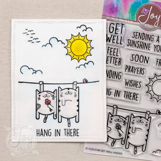 One Layer Card With Get Well Wishes