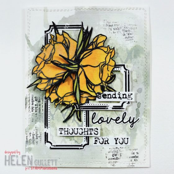 STAMPlorations Spotlight Project Guest Designer - Layers and Fussy Cutting