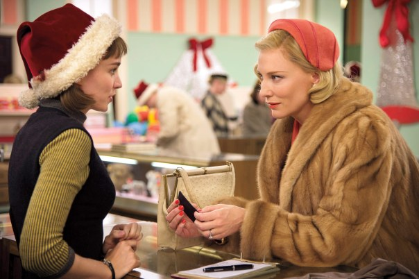 "Cate Blanchett and Rooney Mara in ""Carol"""