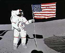 A Man on the Moon: The Space Age