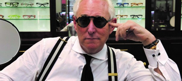 Roger Stone in GET ME ROGER STONE. Photo credit: Barbara Nitke/Netflix.