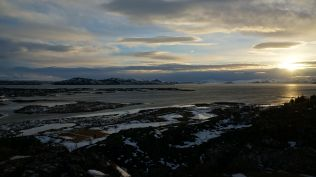 The scenery of Iceland's largest lake
