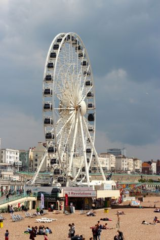 The ferris wheel we did not go on (heights, ergh!)