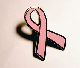 Symbol of breast cancer awareness, pink ribbons were created by Evelyn Lauder in 1992. Photo credit: Free use, public domain