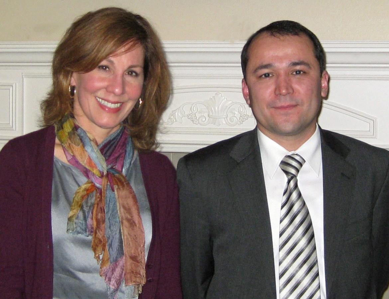 I'm with Uzbekistan's Ambassador to the United Nations, Murad Askarov