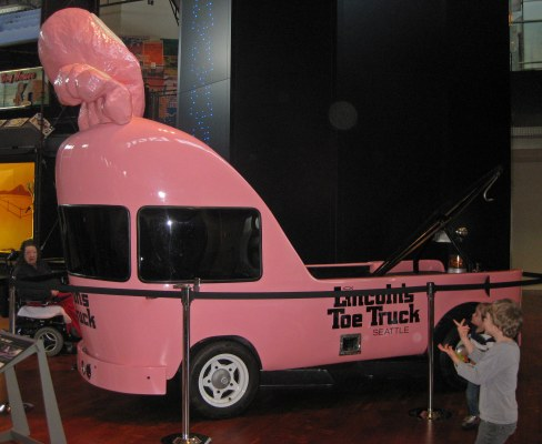 Lincoln 'Toe Truck' (at MOHAI)