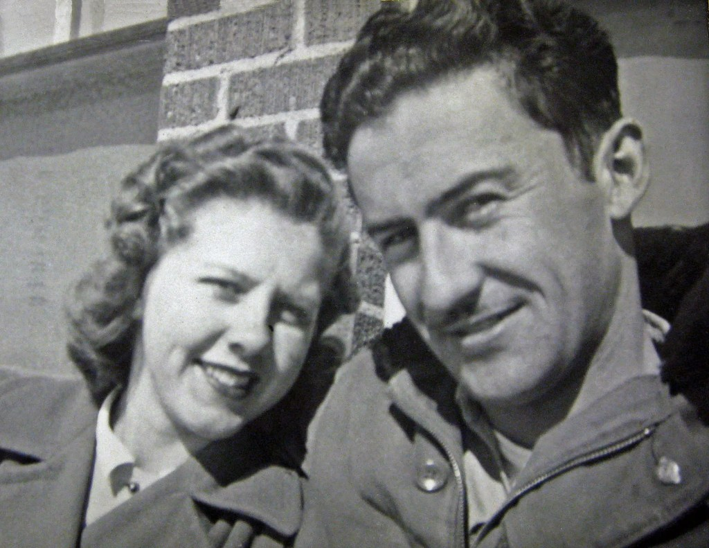 My mom and dad, dating. She's 20, he's 24. (Hinsdale, Montana)
