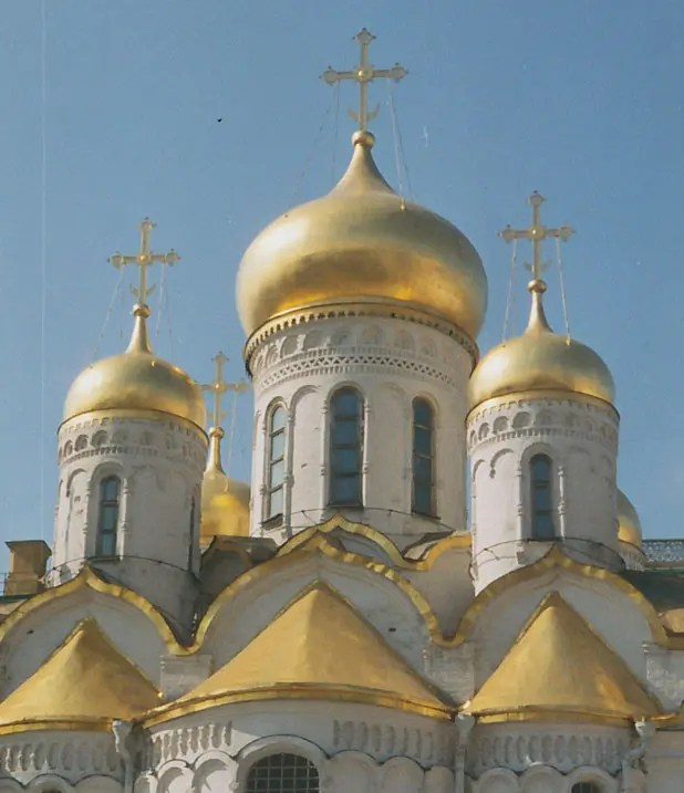 Ubiquitous onion domes of Moscow, Russia Photo credit: Helen Holter