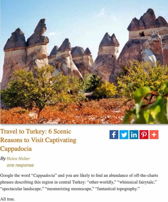 Fairy chimneys-Cappadocia, Turkey