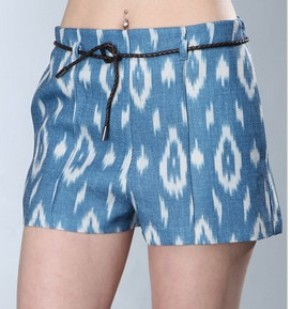 The Art of Accessorizing-HelenHou.com-Dolce Vita Augustina Aztec short