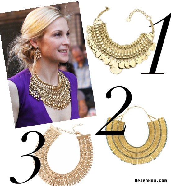 Statement nacklace,Aurélie Bidermann necklace,statement jewelry,costume jewelry, celebrity street style,gold statement ncklace, Kelly Rutherford red carpet style,Kelly Rutherford outfit,Aurélie Bidermann Jewelry,Sequin necklace, Asos  necklace,Kelly Rutherford purple dress, red carpet look,gossip girl, helenhou, helen hou, the art of accessorizing, accessoriseart, celebrity style, street style, lookbook, model off-duty,red carpet looks,red carpet looks for less, fashion, style, outfits, fashion guru, style guru, fashion stylist, what to wear, fashion expert, blogger, style blog, fashion blog,look of the day, celebrity look,celebrity outfit,designer shoes, designer cloth,designer handbag,