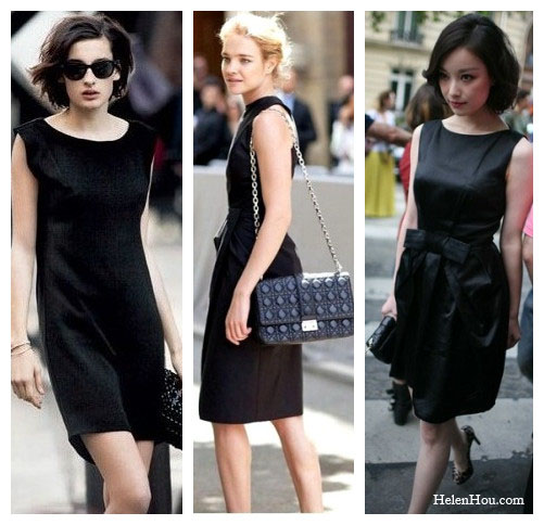 LBD,little black dress, how to accessorise black dress,what to wear with black dress, Parisian chic,Nine d'Urso, Natalia Vodianova,Couture time in Paris,couture street style, paris street style, chain bag, quilted dior bag,leopard pumps, black sunglasses,  helenhou, helen hou, the art of accessorizing, accessoriseart, celebrity style, street style, lookbook, model off-duty,red carpet looks,red carpet looks for less, fashion, style, outfits, fashion guru, style guru, fashion stylist, what to wear, fashion expert, blogger, style blog, fashion blog,look of the day, celebrity look,celebrity outfit,designer shoes, designer cloth,designer handbag,