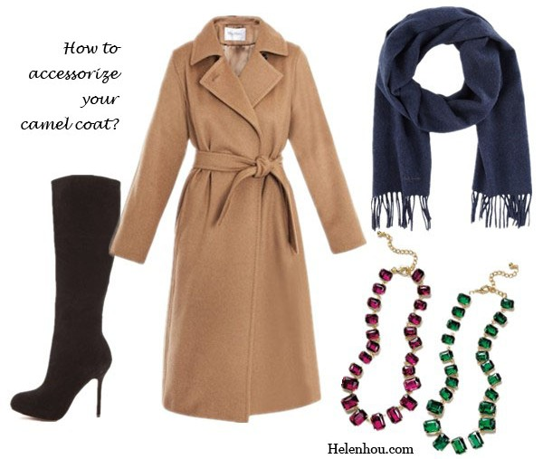 Anna Wintour, camel coat, winter coat, how to wear with a camel coat, how to accessorize camel coat, fur trimmed coat, leopard dress, cashmere scarf, navy scarf, crystal necklace, striped skirt, navy sweater, suede boots, red skirt, brown and red,  Tasha Collar Necklace,  Paul Smith Melange Scarf - Navy,  Nordstrom Tissue Weight Wool & Cashmere Wrap Womens Gray Dark,   Sam Edelman Empire Suede Boots,  MaxmaraManuel classic coat, helenhou, helen hou, the art of accessorizing, accessoriseart, celebrity style, street style, lookbook, model off-duty,red carpet looks,red carpet looks for less, fashion, style, outfits, fashion guru, style guru, fashion stylist, what to wear, fashion expert, blogger, style blog, fashion blog,look of the day, celebrity look,celebrity outfit,designer shoes, designer cloth,designer handbag,
