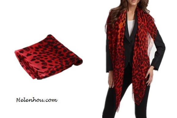 Heidi Klum, Miranda Kerr ,Ana Beatriz Barros,colored leopard scarf,red leopard scarf, purple leopard scarf,skinny jeans, olive blazer, balenciaga leather jacket,j brand coated red skinny jeans, off shoulder sweater,how to wear leopard scarf, stylish fall/winter outfit,prada floral tote, Alexander McQueen - SL Leopard Skull Scarf (Bordeaux) - Accessories,   helenhou, helen hou, the art of accessorizing, accessoriseart, celebrity style, street style, lookbook, model off-duty,red carpet looks,red carpet looks for less, fashion, style, outfits, fashion guru, style guru, fashion stylist, what to wear, fashion expert, blogger, style blog, fashion blog,look of the day, celebrity look,celebrity outfit,designer shoes, designer cloth,designer handbag,