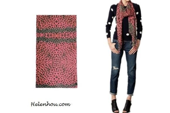 Heidi Klum, Miranda Kerr ,Ana Beatriz Barros,colored leopard scarf,red leopard scarf, purple leopard scarf,skinny jeans, olive blazer, balenciaga leather jacket,j brand coated red skinny jeans, off shoulder sweater,how to wear leopard scarf, stylish fall/winter outfit,prada floral tote, Lily and LionelAngelina neon-leopard scarf ,   helenhou, helen hou, the art of accessorizing, accessoriseart, celebrity style, street style, lookbook, model off-duty,red carpet looks,red carpet looks for less, fashion, style, outfits, fashion guru, style guru, fashion stylist, what to wear, fashion expert, blogger, style blog, fashion blog,look of the day, celebrity look,celebrity outfit,designer shoes, designer cloth,designer handbag,