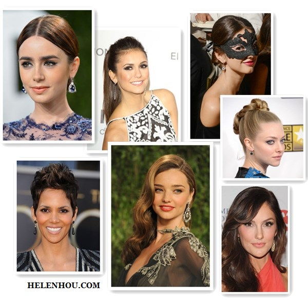 Statement drop earrings, Earrings Natalya Rovner, Halle Berry, Amanda Seyfried,Minka Kelly,Nina Dobrev ,Lily Collins, Miranda Kerr,blue diamond earring, one shoulder maxi dress,princess earrings,blue lace dress, black drop earring, black and white tribal print dress, Linear Crystal Earrings,black Teardrop Earrings, black stone earring, orange dress, gold earrings, red lip,  helenhou, helen hou, the art of accessorizing, accessoriseart, celebrity style, street style, lookbook, model off-duty,red carpet looks,red carpet looks for less, fashion, style, outfits, fashion guru, style guru, fashion stylist, what to wear, fashion expert, blogger, style blog, fashion blog,look of the day, celebrity look,celebrity outfit,designer shoes, designer cloth,designer handbag, Black and white with pops of color