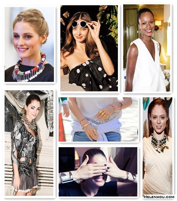 how to wear bold, retro, futuristic, edgy, cut out, ethnic jewelry by helen hou, the art of accessorizing