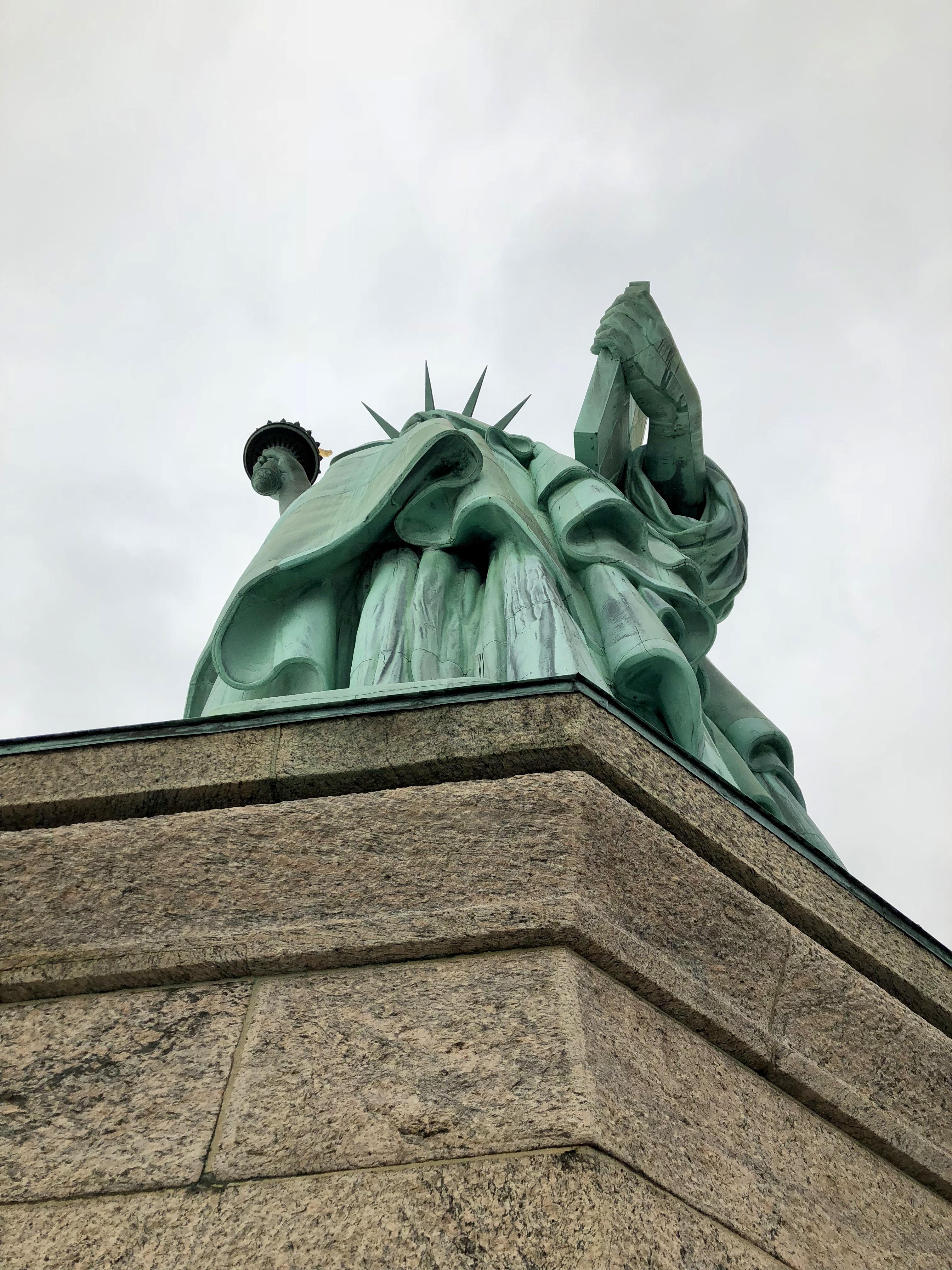 Thursday Doors Statue Of Liberty Pedestal