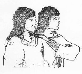 Brothers Jan and Berthol, 'the Twins': sketch by Helen Lerewth