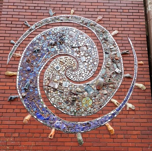 Mosaics In Chicago. Part Iv Potholes Subways